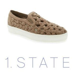 1. State • Microsuede Slip On Sneakers
